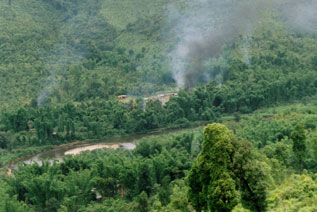 Village being shelled by SPDC (Section 1 part 3)