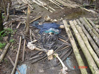 Convict porter killed by SPDC troops (Section 1a)